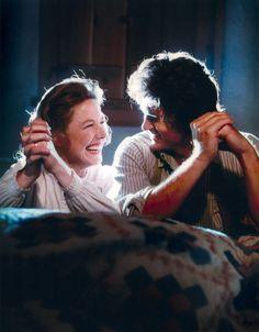 Little House on the Prairie || Karen Grassle as Caroline Ingalls (Ma) & Michael Landon as her husband, Charles Ingalls (Pa) || NBC-TV Series