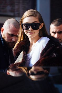 Models off duty: Milaan Fashion Week a/w 2017
