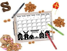 Graits Sinterklaas aftelkalender Childrens Holidays, Winter Time, School Projects, Kids And Parenting, Advent Calendar, Christmas Cards, December, Presents, Birthday Parties