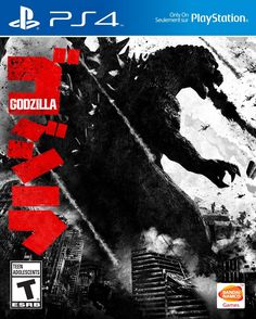 Godzilla The Game PlayStation 4 Cover