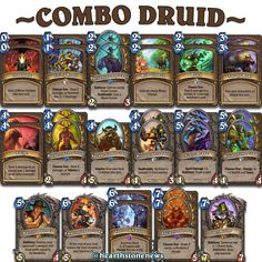 hearthstone deck combo druid