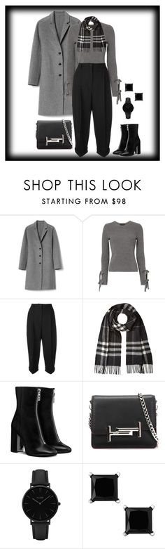 """Untitled #1681"" by ebramos on Polyvore featuring Gap, Exclusive for Intermix, Dolce&Gabbana, Burberry, Tod's and CLUSE"