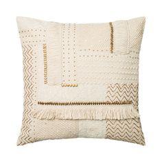 Beaded Fringe Pillow