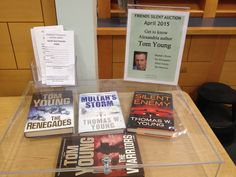 Very honored by the April 2015 silent auction at Beatley Central Library in Alexandria, VA!