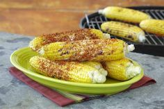 Grilled Mexican Corn on the Cob A classic, anytime snack for any parties or summer picnics.