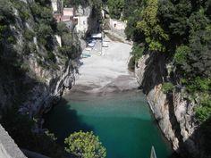 """#Campania #CostieraAmalfitana #Furore #Fiordo -Fu girato il film """"L'Amore"""" di #Rossellini con #AnnaMagnani"""