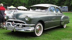 Although this Pontiac is a 1951, it's the car my father drove when I was born in 1954.