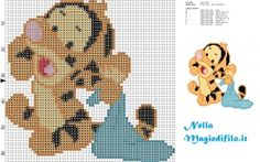 Baby tigro amico di Winnie the Pooh con copertina