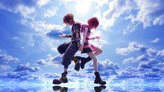 Sora Kh, Sora And Kairi, Sora Kingdom Hearts 3, Kh 3, L Death, Kindom Hearts, Pop Culture Art, Keys Art, Fandom