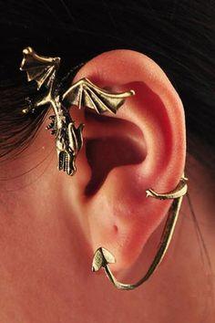 Clip en Hermosa joyas esmalte strass Cool Bumble Bee Cristal Pendientes de Oro