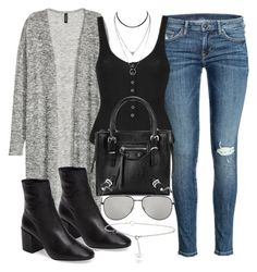 """""""Sin título #12149"""" by vany-alvarado ❤ liked on Polyvore featuring H&M, Topshop, Yves Saint Laurent and Tiffany & Co."""