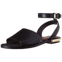 Dolce Vita Women's Dacota Gladiator Sandal, Black, 6 M US