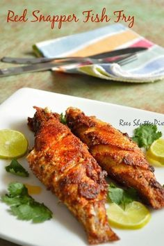 Red Snapper Fish Fry Recipe | Sankara Meen Varuval Recipe | Seafood Recipes