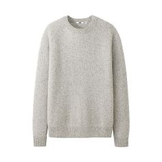 The Best Gifts Under $50 for Everyone in Your Life: Lambswool Blend Crew Neck Sweater, $19.90, available at Uniqlo