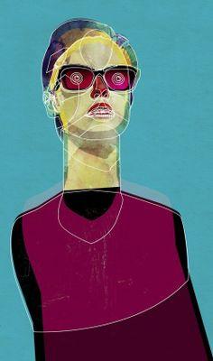 Alvaro Tapia Hidalgo Collage Portrait, Abstract Portrait, Paper Collage Art, Modern Portraits, Cool Artwork, Amazing Artwork, Art For Art Sake, Portrait Illustration, Female Art