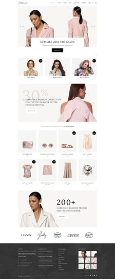 Meet Satiné, elegant shop WordPress theme, made to turn your shop into a pure eCommerce magnificence. Its advanced options and stylish design are perfect for all types of online stores. Ecommerce Web Design, Wordpress Website Design, Web Design Trends, Website Design Layout, Website Design Inspiration, Banner Web Design, Portfolio Webdesign, Fashion Website Design, Web Design Tutorial