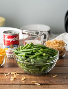 I love using FRESH green beans in my Classic Green Bean Casserole because it really brings out the fresh flavor of the beans. This Classic Green Bean Casserole has a cheesy surprise to it that takes this classic holiday side dish over the top! Fresh Green Bean Recipes, Classic Green Bean Casserole, Over The Top, Greenbean Casserole Recipe, Casserole Recipes, Thanksgiving Recipes, Fall Recipes, Thanksgiving 2020, Campbells Recipes