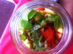 Zucchini Nature: Salades de pois chiches pour apporter!