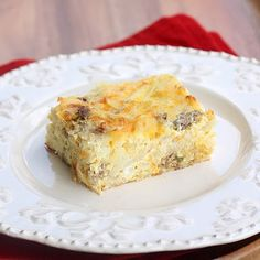 yummy breakfast casserole!