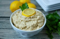 A super creamy, bright 5-ingredient homemade hummus recipe, ready in just 5 minutes!