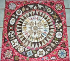 Patchwork, Knitting,Embroidery and Wool Circle Quilts, Hexagon Quilt, Star Quilts, Appliqué Quilts, Quilt Blocks, Quilt Stitching, Quilting, Pattern Blocks, Block Patterns