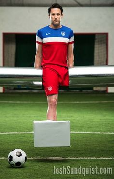 Pin for Later: This Amputee Created a Mind-Blowing Foosball Player Costume