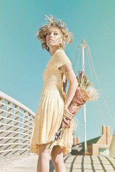 Valparaíso by Helen Rödel, via Flickr  I will keep crocheting until I can create apparel like this!!!