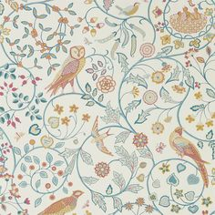 Newill Wallpaper - Indigo Saffron - William Morris & Co Melsetter Wallpapers Collection Look Wallpaper, Apple Wallpaper, Print Wallpaper, Fabric Wallpaper, Liberty Wallpaper, William Morris Wallpaper, Morris Wallpapers, William Morris Patterns, Image Hd