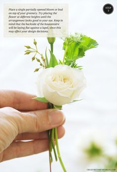 DIY Boutonnieres and Corsages with Flower Muse