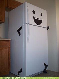 Is your fridge running...I think our fridge at work needs this. @Heather Elliott. @Katharine Rosa
