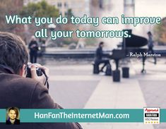 What you do...  Sign Up For Your Daily Tips, Early Bird Special, Coupons & Bonus! HERE: http://hanfanapproved.com/hfslc/getYourEarlyBirdSpecialHERE/  Check Out Our New TV Channel: http://HanFanTheInternetManTV.com  Vimeo Us: https://vimeo.com/channels/hanfantheinternetman Friend Us: https://vimeo.com/hanfantheinternetman Like us: https://www.facebook.com/HanFanTheInternetMan Follow Us: https://twitter.com/HanFanTheMan Connect with us: https://www.linkedin.com/in/HanF