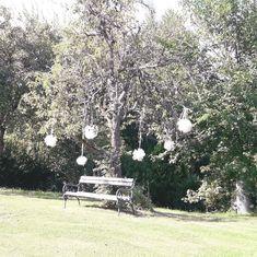 Pom Pons #Kleinsasserhof Spital #Hochzeit #Dekoration Celestial, Outdoor, Getting Married, Wedding, Dekoration, Outdoors, Outdoor Games, The Great Outdoors
