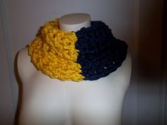 U of M  University Of Michigan  Blue & Maize  by siouxsiewear, $15.00