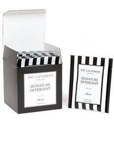 ✈ Signature Pacquette Box Travel-Sized Detergent Packs from the Laundress ✈