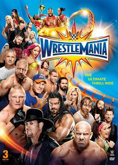 Shop WWE: Wrestlemania XXXIII Discs] [DVD] at Best Buy. Find low everyday prices and buy online for delivery or in-store pick-up. Wwe Lucha, Wwe Events, The Miz And Maryse, Watch Wrestling, Wrestling Posters, Wrestling Wwe, Wwe Ppv, Wrestlemania 33, Zack Ryder