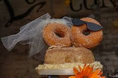 Doughnut wedding cakes