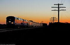 RailPictures.Net Photo: AMTK 166 Amtrak GE P42DC at Wawaka, Indiana by Matt Weldon