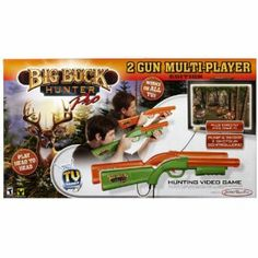 Big Buck Hunter Pro 2 x Pack by Jakks. $74.50. Authentic, sharp shooting arcade action. Top arcade hunting game. Plugs directly into your TV. Go head to head. From the Manufacturer                Go Head to Head with the New Big Buck Hunter Pro 2 Gun Multi Player Edition. Enjoy the fast-paced, exciting hunting action of this Arcade classic in your family room – without an expensive video game console. The game is built into the game controller, which connects directly to any T...
