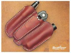 EDC Pocket organizer leather sheath