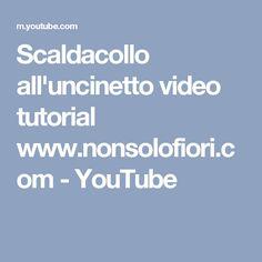 Scaldacollo all'uncinetto video tutorial www.nonsolofiori.com - YouTube