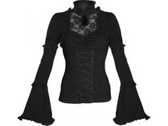 Queen of Darkness 'Purify' gothic top