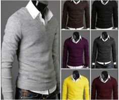 Stylish men V neck sweater that keeps you a warm and stylish this season