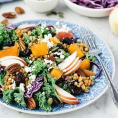 salade automne déprime novembre Berry Smoothie Recipe, Easy Smoothie Recipes, Easy Smoothies, Snack Recipes, Healthy Recipes, Coconut Milk Smoothie, Grilled Fruit, Cookout Food, Nutrition