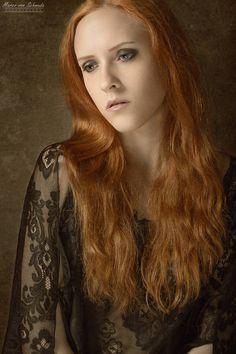 #model CateRed #portrait #ginger #melancholic