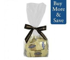 Cookies & Creme Singles Gift Bag- 33 Count  #GhirardelliChocolate.