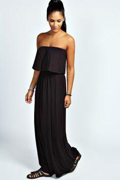 Casey Bandeau Frill Top Maxi Dress 15.00
