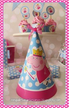 peppa pig party free printables (some are spanish) Fiestas Peppa Pig, Cumple Peppa Pig, Colorful Birthday Party, 4th Birthday Parties, Birthday Ideas, Pig Birthday, Little Girl Birthday, Peppa Pig Printables, Free Printables