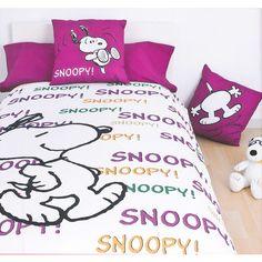 Fundas Nórdicas Snoopy Words