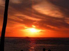 Sunset at Beach House Restaurant