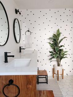Modern Bathroom Decor, Bathroom Styling, Bathroom Interior Design, Small Bathroom, Scandinavian Style Home, Dream Decor, Bathroom Inspiration, Home And Living, Decoration